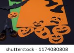 creative decoration halloween...   Shutterstock . vector #1174080808