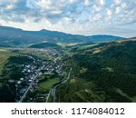 drone image. aerial view of... | Shutterstock . vector #1174084012