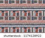 tribal vector ornament....   Shutterstock .eps vector #1174128922