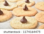 fresh baked sugar cookies with... | Shutterstock . vector #1174164475