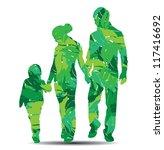 vector illustration of family... | Shutterstock .eps vector #117416692