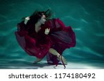Dancing Woman Under The Water...