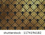 chinese traditional oriental... | Shutterstock .eps vector #1174196182