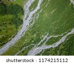 aerial view from the drone. the ... | Shutterstock . vector #1174215112