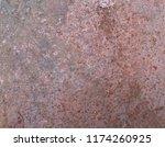 iron rust steel rust steel... | Shutterstock . vector #1174260925