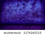 grunge interior background | Shutterstock . vector #1174265215