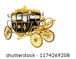 the old royal horse carriage in ... | Shutterstock . vector #1174269208