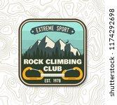 Rock Climbing Club Badge....