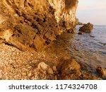 rocks by the sea | Shutterstock . vector #1174324708