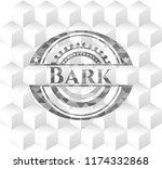 bark grey emblem. vintage with... | Shutterstock .eps vector #1174332868