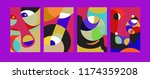 vector abstract colorful...   Shutterstock .eps vector #1174359208