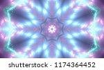abstract kaleidescopic club...   Shutterstock . vector #1174364452