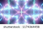 abstract kaleidescopic club...   Shutterstock . vector #1174364458