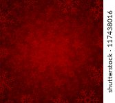 red winter background with... | Shutterstock .eps vector #117438016