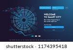 user interface for big data... | Shutterstock .eps vector #1174395418