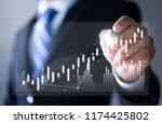 business strategy  data... | Shutterstock . vector #1174425802