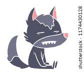flat color style cartoon...   Shutterstock .eps vector #1174430128