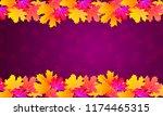 brochure or poster in the... | Shutterstock .eps vector #1174465315