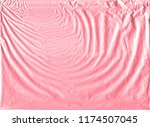 shiny pink gold wrapping paper... | Shutterstock . vector #1174507045