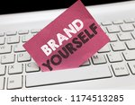conceptual hand writing showing ... | Shutterstock . vector #1174513285