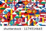 football nations league... | Shutterstock .eps vector #1174514665