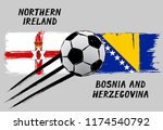 flags of northern ireland and... | Shutterstock .eps vector #1174540792