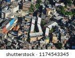 rocinha favela in rio   Shutterstock . vector #1174543345
