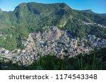 rocinha favela in rio   Shutterstock . vector #1174543348