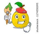 artist character ripe quince...   Shutterstock .eps vector #1174550395