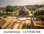 ayutthaya   october 15  2014 ... | Shutterstock . vector #1174586788