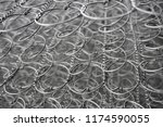 block springs for mattresses | Shutterstock . vector #1174590055