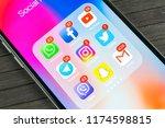 sankt petersburg  russia ... | Shutterstock . vector #1174598815