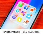 sankt petersburg  russia ... | Shutterstock . vector #1174600588