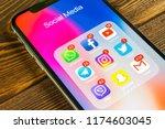 sankt petersburg  russia ... | Shutterstock . vector #1174603045