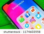 sankt petersburg  russia ... | Shutterstock . vector #1174603558