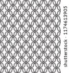 geometric pattern with... | Shutterstock .eps vector #1174613905