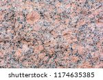 fracture of red granite   stone ... | Shutterstock . vector #1174635385