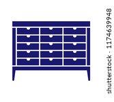 various household items. vector. | Shutterstock .eps vector #1174639948