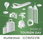 world tourism day tourism day... | Shutterstock .eps vector #1174652158