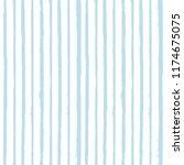 paint stripe seamless pattern.... | Shutterstock .eps vector #1174675075