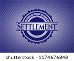 settlement denim background | Shutterstock .eps vector #1174676848