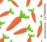 vector seamless pattern with... | Shutterstock .eps vector #1174685005