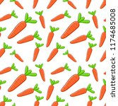 vector seamless pattern with... | Shutterstock .eps vector #1174685008