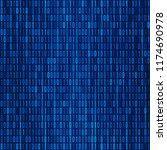 computer background numbers 1 0....   Shutterstock .eps vector #1174690978