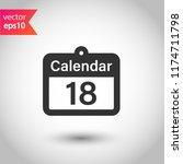 calendar icon. vector calendar...