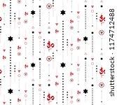 vector illustration on white... | Shutterstock .eps vector #1174712488