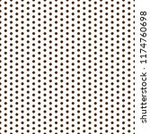 polka dots seamless pattern  ... | Shutterstock .eps vector #1174760698
