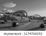 newcastle  england   july 29 ... | Shutterstock . vector #1174763152
