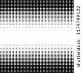 modern halftone background for... | Shutterstock .eps vector #1174799122
