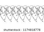 cartoon stick drawing...   Shutterstock .eps vector #1174818778